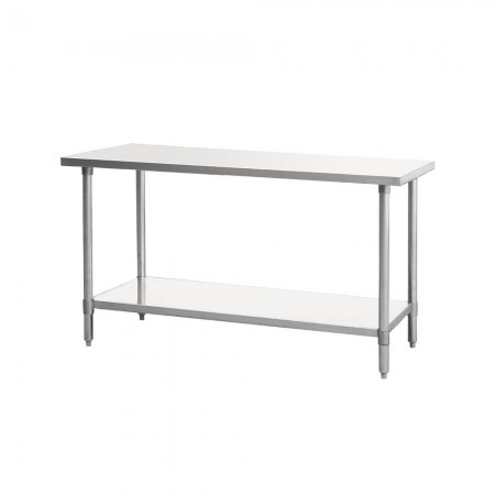"""Atosa MRTW-3036 Stainless Steel Work Table with Under Shelf 30"""" x 36"""""""