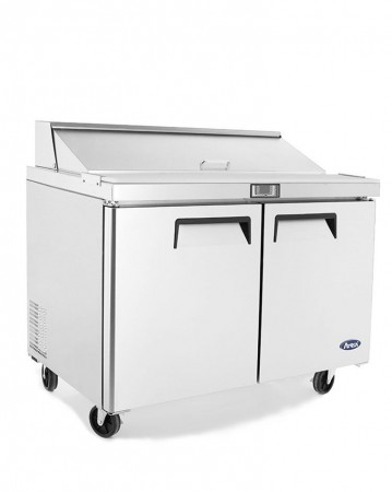 """Atosa MSF8302GR Refrigerated Sandwich Prep Table 48"""""""