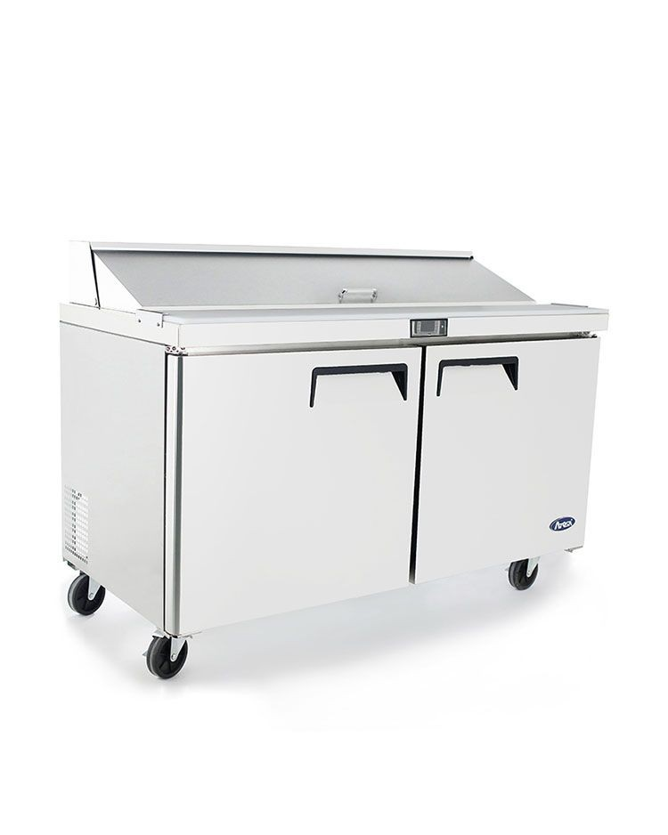 Amazing Atosa Msf8303Gr Refrigerated Sandwich Prep Table 60 Home Remodeling Inspirations Genioncuboardxyz