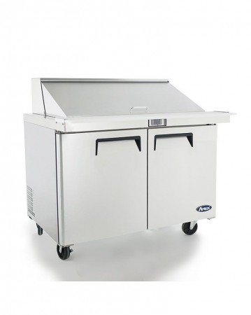 """Atosa MSF8306GR Mega Top Refrigerated Sandwich Prep Table 48"""""""