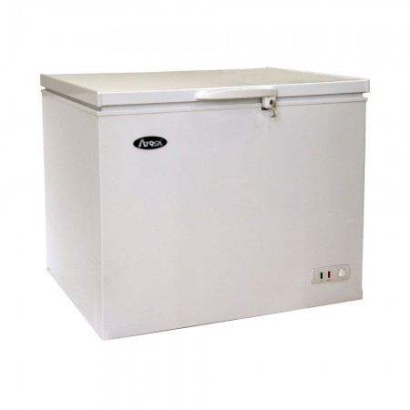 Atosa MWF9010GR Solid Top Chest Freezer 10 Cu. Ft.