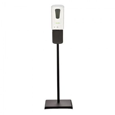 Alpine 430-L-S Automatic Hands-Free Liquid/Gel Hand Sanitizer/Soap Dispenser with Floor Stand, 1200 mL