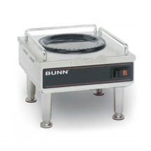 BUNN 12203.0014 Portable Coffee Server Warmer with Satin Nickel Legs