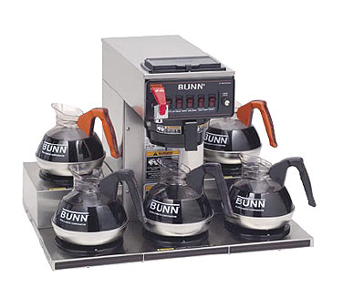 BUNN 13250.0023 12 Cup Automatic Coffee Brewer with 5 Warmers 120/208-240V