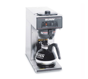 BUNN 13300.0001 Stainless Steel Low Profile Pourover Coffee Brewer