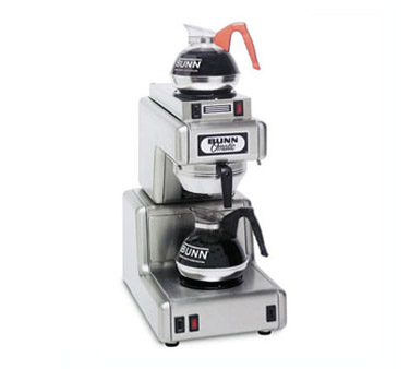 BUNN 20830.0000 Automatic Coffee Brewer With 1 Lower and 1 Upper Warmer