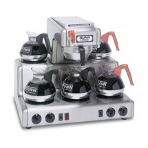 BUNN 20835.0004 12 Cup Automatic Coffee Brewer with 5 Lower Warmers with Hot Water Faucet - 120/240V