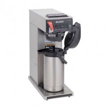 BUNN 23001.0058 Dual Voltage Airpot Coffee Brewer with Plastic Funnel