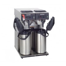 BUNN 23400.002 Twin 12 Cup Automatic Coffee Brewer with 6 Warmers