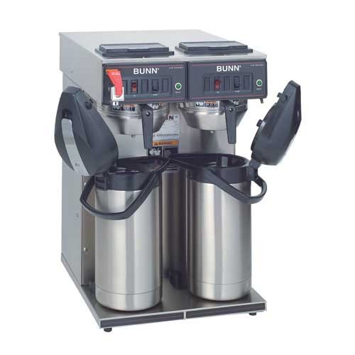 BUNN 23400.0041 Airpot Coffee Brewer with Stainless Steel Funnel