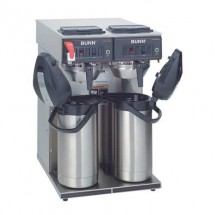 BUNN 23400.0046 Airpot Coffee Brewer with Gourmet Stainless Steel Funnel