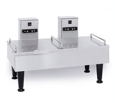 BUNN 27875.0000 Stainless Double Position Soft Heat Serving Stand with 4