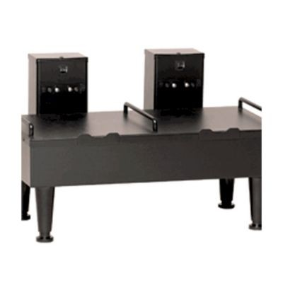 BUNN 27875.0003 Black Double Position Soft Heat Serving Stand with 4