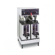 BUNN 27900.0002 Soft Heat Dual Brewer with Docking System - Stainless Steel 120V / 240V