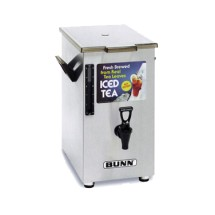 BUNN 3250.0003 4 Gallon Iced Tea / Coffee Dispenser, Square with Solid Lid