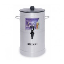 BUNN 33000.0002 3 Gallon Iced Tea / Coffee Dispenser Cylinder Style