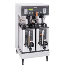 BUNN 33500.0000 BrewWise Soft Heat Dual Brewer with Upper Faucet - 1 doz