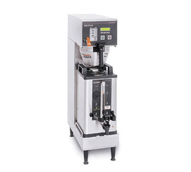 BUNN 33600.0000 BrewWISE Single Soft Heat Coffee Brewer - Stainless Steel