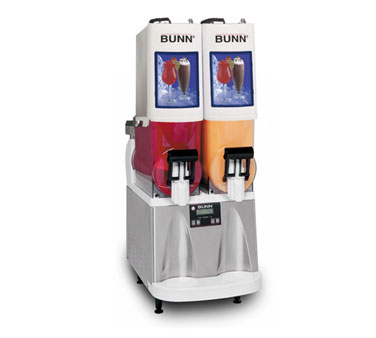 BUNN 34000.0067 Ultra Gourmet Ice Frozen Drink Machine 2 Hoppers