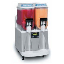 BUNN 34000.0079 High Performance Ultra Gourmet Ice Frozen Drink Machine 2 Hoppers - White and Stainless Steel