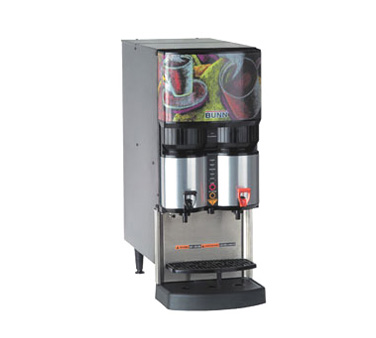 BUNN 34400.0002 Ambient Liquid Coffee Dispenser with Scholle 1910LX Connector