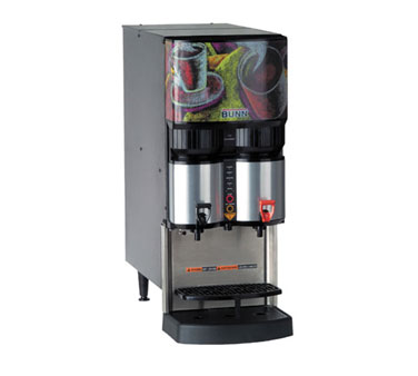 BUNN 34400.0026 Ambient Liquid Coffee Dispenser with Scholle QC Connector