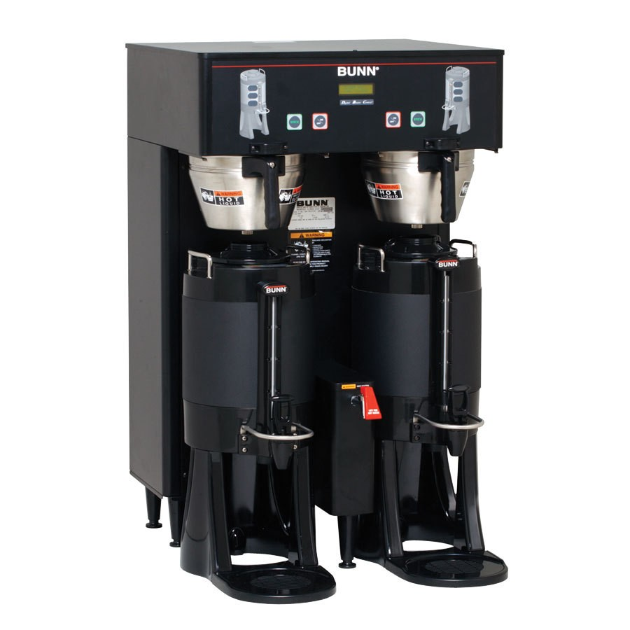 BUNN 34600.0001 BrewWISE ThermoFresh Dual DBC Brewer, Black 18.9 Gallon