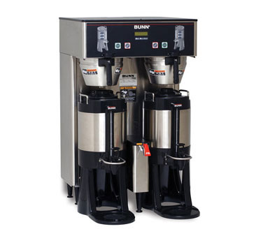 BUNN 34600.0002 BrewWISE ThermoFresh Dual DBC Brewer, Stainless Steel 18.9 Gallon