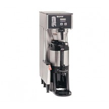BUNN 34800.0000 Single BrewWISE ThermoFresh Brewer with Funnel - Stainless Steel 120V / 240V