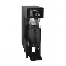 BUNN 34800.0001 Single BrewWISE Thermo Fresh Brewer with Funnel - Black 120V / 240V