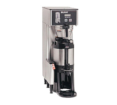 BUNN 34800.0017 Single BrewWISE ThermoFresh Brewer with Funnel 120V
