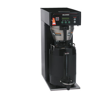 BUNN 36600.0004 Infusion Coffee Brewer - Black, Dual Voltage