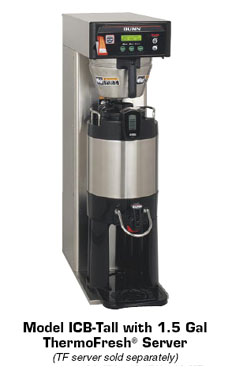 BUNN 36600.0005 Infusion Automatic Tall Coffee Brewer