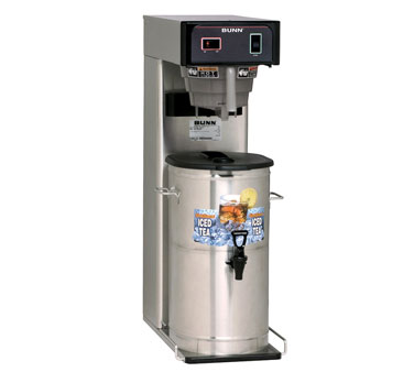 BUNN 36700.0055 3 Gallon Iced Tea Brewer with Ready Indicator Light and Quick Brew