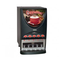 BUNN 37000.0000 Hot Beverage Dispenser with 5 Hoppers - Black