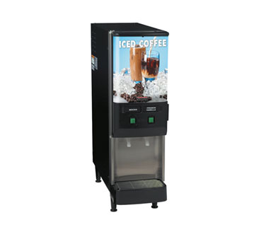BUNN 37900.0002 2-Flavor Cold Beverage Iced Coffee Dispenser