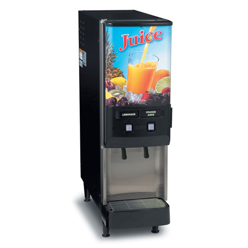 BUNN 37900.0009 2-Flavor Cold Beverage Iced Coffee Dispenser
