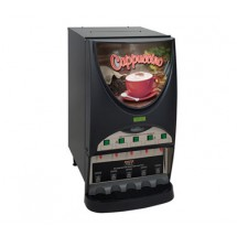BUNN 38100.0010 Silver Series Iced Coffee Beverage Dispenser with 5 Hoppers