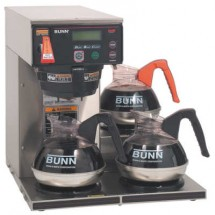 BUNN 38700.0000 Automatic Coffee Brewer With 1 Lower and 2 Upper Warmer