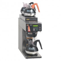 BUNN 38700.0023 12 Cup Dual Voltage Automatic Coffee Brewer with 1 Lower and 2 Upper Warmers