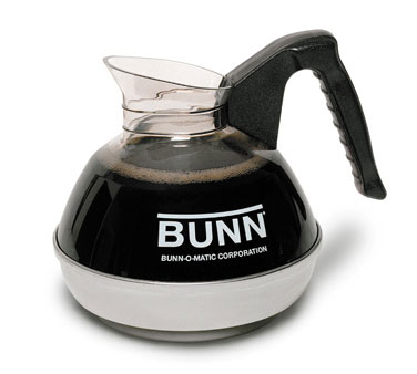 BUNN 6100.0103 POUR-0103 Coffee Decanter 64 Oz. with Black Handle (3 Pack)