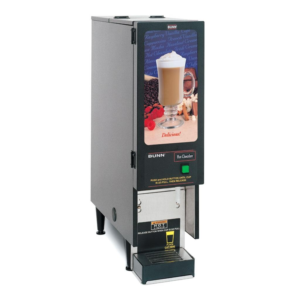 BUNN SET00.0203 Fresh Mix Cappuccino / Espresso Machine Hot Chocolate Dispenser - 120V