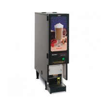 BUNN SET00.0207 Fresh Mix Cappucino / Espress Dispenser with 1 Hopper and Lighted Display - 120V