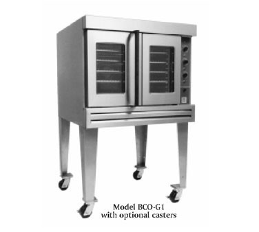 Bakers Pride BCO-G1 Gas 60,000 BTU Cyclone Single Deck Convection Oven