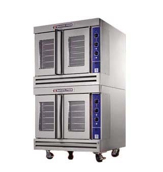 Bakers Pride BCO-G2 Gas 60,000 BTU Cyclone Double Deck Convection Oven