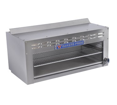 "Bakers Pride BPCM-24 24"" 20,000 BTU Gas Cheesemaker"