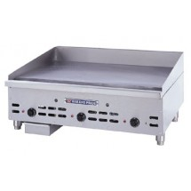"Bakers Pride HDMG-2436 36"" Heavy-Duty 120,000 BTU Countertop Gas Griddle"