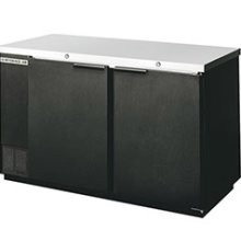 "Beverage Air BB58-1-B 2-37.25"" Section Refrigerated Backbar Storage Cabinet"