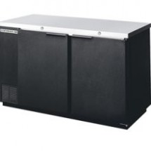Beverage Air BB58R-1-B 2-Section Refrigerated Backbar Storage Cabinet