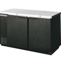 Beverage Air BB68-1-B 2-Section Refrigerated Backbar Storage Cabinet
